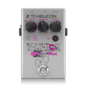 [TC Helicon] Talkbox Synth 이펙터